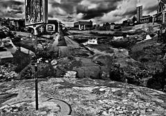 """Bus Stop"" (giannipaoloziliani) Tags: biancoenero monocromatico italia italy monochrome blackandwhite art busstop opticalillusion lightgames horizon photoart nikond3200 torino turin piemonte turincity city nikoncamera nikon digitalgraphics flickr"