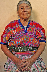 Mi abuela (ajpucarlos) Tags: san jos poaquil chimaltenango guatemala gipil indumentaria maya anciana