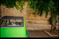 161004-0967-XM1.jpg (hopeless128) Tags: car trees 2cv eurotrip 2016 tree wall france nanteuilenvalle aquitainelimousinpoitoucharen aquitainelimousinpoitoucharentes fr