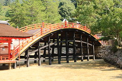 The arched bridge (iorus and bela) Tags: bela iorus japan 2016 holiday vakantie hiroshima miyajima itsukushima shrine soribashi archedbridge