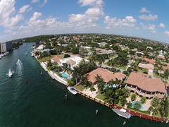 Luxury waterfront homes (coderedroofers) Tags: homes houses residences mansions realestate properties waterfront luxury luxurious expensive exclusive horizon florida boca travel destination canal waterway scenery scenic tropic tropical aerial fromabove birdseye view lookingdown unitedstatesofamerica
