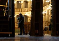 WERTHER (Renato Morselli) Tags: werther massenet opera teatrocomunaledibologna theatre prove backstage michelemariotti rosettacucchi tizianosanti stage scene senografia cantanti singers pittore stefano pittura ritocco