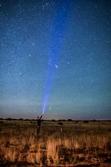 ([ raymond ]) Tags: americansouthwest newmexico night southwest stars img0111 selfie selfportrait beam desert landscape nightscape