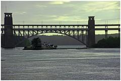 Britannia Bridge. (peterdouglas1) Tags: bridges northwalescoast menaistraits britanniabridge northwalescoastrailway