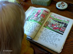 Heini likes horse-riding (oxfordian.world) Tags: old school museum vintage education alt fair reiten schule horseriding schoolbook norddeutschland jahrmarkt niedersachsen lowersaxony northgermany damals schulbuch oxfordian lumixlx7 geversdorf oxfordianworld heimatmuseumgeversdorf