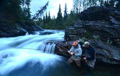Going Fishing (Fish as art) Tags: angling northerncanada remotefishing wildernessfishing