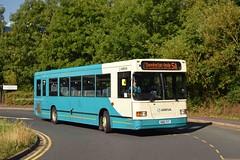 Scania Survivor 12/08/15 (MCW1987) Tags: county lancashire east fox scania midlands arriva lancs 3468 l113crl n168put