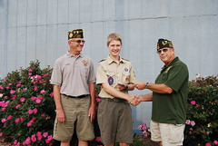 2014 Boy Scout of the Year - Mike Tomes, Torben Eid, Bob Muhlhauser