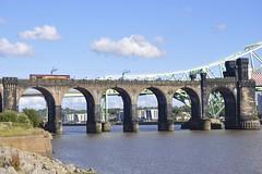 66096 (8A.Rail) Tags: auto vans dbs ews britanniabridge 66096 6m66 widneswestbank