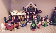 Winter Village 2015 (valeolligio) Tags: santa christmas winter snowman village lego noel natale northpole 2015
