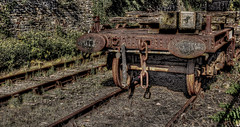 Rusty (diminji (Chris)) Tags: bristol outdoors rust outdoor traintracks rusty railway trains hdr bogie hdrtoning