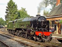 'Royal Scot'. Highley (SVR). 16 September 2015 (ricsrailpics) Tags: uk shropshire locomotive preservation svr severnvalleyrailway 460 2015 royalscot highley