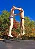IMG_7010 (danimaniacs) Tags: shirtless man hot sexy guy fun jump trampoline trunks speedo swimsuit stud bulge
