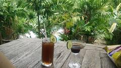 Cocktails bij Elephant Hills