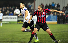 Dundalk v Longford town (ExtratimePhotos) Tags: rice stephen richie towell