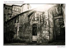 Spoleto - Chiesa di San Giovanni e San PaolO (Andrea di Florio (5,000,000 views)) Tags: santa street nikon maria chiesa e piazza duomo spoleto bianco nero umbria interno scultura assunta religione d600 lucenaturale andreadiflorio