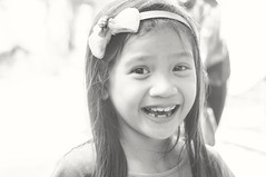 Laughter No.1 (neilsinadjan) Tags: portrait people children child faces philippines laughter mukha