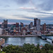 Pittsburgh Skyline at Sunset 04