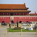 Tiananmen Square & Forbidden city entrance, Beijing, China
