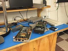 Retro gear: Repairing Commodore 1541 floppy drives (Trevdog67) Tags: drive retro repair floppy computing commodore 1980s diskette 1541
