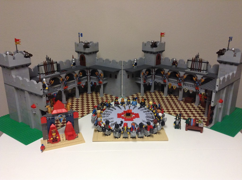 The world 39 s best photos of lancelot and lego flickr hive mind - Knights of the round table lego ...