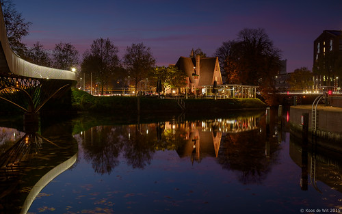 Zwolle at blue hour