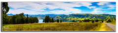 Lake St Clair (Thanks For Your Kind Support) Tags: trees sky panorama lake water canon dam widescreen australia nsw fields 1855mm hdr lakestclair hunterregion kevinwalker canon1100d