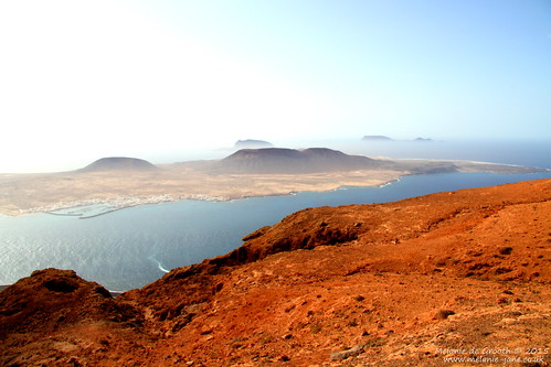 View over La Graciosa, Lanzarote