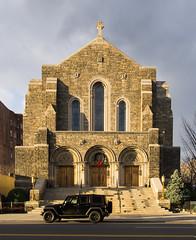 Test (jedi_strings) Tags: nyc newyork church good broadway uptown sheperd pentaxk5 dahd15mm