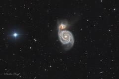 Whirlpool Galaxy - M51 (cfaobam) Tags: germany bayern deutschland photo ngc telescope whirlpool galaxy astrophotography goto astronomy m51 51 messier f4 astrophoto g11 lodestar teleskop koma astronomie littlefoot deepsky ts10 astrofoto losmandy 5194 ngc5195 sternbild pixinsight jagdhunde astrofotografie astrometrydotnet:status=solved spiralgalaxie astrodon ontc eqalign cfaobam aplanatic strudelgalaxie cfaobamhome newtonontc newtonontcnewton1000mm f4gpu korrectorgpu aplanatickoma korrectormoraviang28300moravian g28300moravian g28300fwg28300fw astrometrydotnet:id=nova1362071