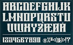 Font Design - 276 Vintage Dream (Marius Mellebye / 276ccm) Tags: photoshop vintage typography design graphic letters mockup numbers font illustrator lettering typo typeface fontlab typografi fontdesign thedailytype