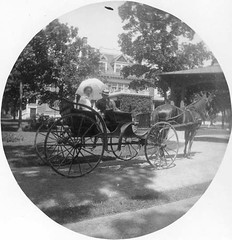 P-26-H-069 (neenahhistoricalsociety) Tags: clark shattuck mansions horses buggies