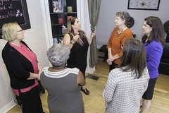 Women Senators Tour Woman-Owned Hair Salon in Meriden (CT Senate Democrats) Tags: bethbye dantbartolomeo gayleslossberg jobs marilynmoore meriden terrygerratana hairsalon smallbusiness womanownedbusiness