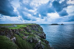 20160930_MG__0562 (Photographsof.com) Tags: rhossilli wormshead llangennith wales walking beach beachscape swansea swanseabay seascape nightphotography nightscape sheep visitwales gower cliffs sea clouds sky skycolours