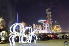 Melbourne (MISHKA Vision - Light Graffer) Tags: australie australia lightpainting lightgraff longexposure expositionlongue nightphotography roadtrip