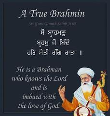 ਬ੍ਰਾਹਮਣ (DaasHarjitSingh) Tags: srigurugranthsahibji sggs sikh sikhism satnaam waheguru gurbani guru granth singh khalsa