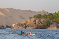 Mobile Aquatic Duo (Hector16) Tags: النيل dahabiyadream egyptology nile aswan sailing أسوان northafrica boat فيله النيل dahabiya egypt sheyakhahoula aswangovernorate eg gettyimages