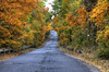 Scenic autumn road (Majorimi) Tags: autumn coming fall tree sky leaf forest road canon eos 70d digital color colorful nice hungary street drive scenic hdr yellow green brown
