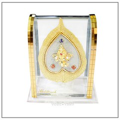 Ganesh Acrylic Frame,Ganesha Desktop,Lord Ganesh frame Vedi Vaani (vedicvaani) Tags: frame acrylic ganesh desktop ganesha lord items online gift leaf peepal ganpati