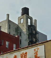 To nowhere (Gordonlaurie) Tags: nyc watertower fireescape