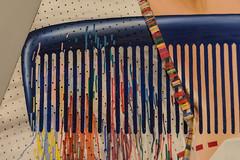 Detail, For Klesler's Endless House, 1963, James Rosenquist, Museu Coleccao Berado, Belem, Lisbon (Peter Cook UK) Tags: rosenquist art endless kleslers belem 2016 portugal berado coleccao museum for 1963 james museu house lisbon detail
