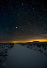 Nieve y estrellas en la estepa II