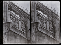 Dome of Milan. Top of the floor (Giorgio Bordin) Tags: stereophotography milan dome duomo milano altprocesses rx film