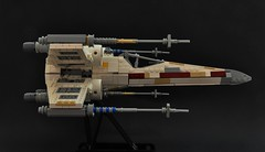 T-65 X-wing: V2 (4) (Inthert) Tags: lego t65 fighter sfoils x wing star wars ship moc rebel rogue squadron astromech incom red5 r2d2 luke skywalker