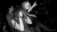"Crazy Crowd, Media Club Vancouver BC (Electric Beard Photography) Tags: musician artist electricbeardphotography liveband liveconcert live livemusic music concertphotography rocknroll gig newmusic original contrast perform photo photography candid professional pro concert indie indieband rockband rockmusic alternativerock hardrock heavyrock ""indie rock"" ""punk musicscene performance vancouver bc britishcolumbia love passion nikon nikkor d80 dancing dance fun expression costume hair dreds mask bighead mosh moshpit"