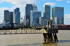 LONDON, LONDRES / Canary Wharf (05/10/2016) (Sal Tuon Loureda) Tags: london londres skyline cityscape thames skycrapers rascacielos canary wharf edificio building arquitectura architecture nikon skycraper