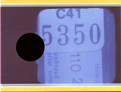 Numbers. 110/5350 (Mrs.Black&White) Tags: 110 110film film pointshoot oldscans 1980s