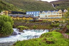 070854_CB_1068 (aud.watson) Tags: europe norway sunnmoreregion geirangerfjorden fjord waterfalls water mountains geiranger hotel dawn