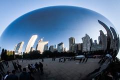 Cloud Gate. AT&T Plaza at Millennium Park. Chicago (sespir) Tags: cloudgate chicago illinois il milleniumpark bean reflection anish kapoor mercury mirror buildings art sculpture publicart