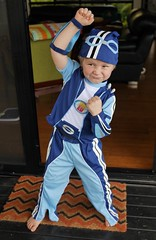 (Serinda Jade) Tags: lazytown costume child sportacus